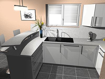 Devis et cuisine en 3d strasbourg pr s de strasbourg for Cuisine 3d concept dole