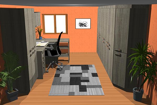 placard et dressing sur mesure 3d. Black Bedroom Furniture Sets. Home Design Ideas
